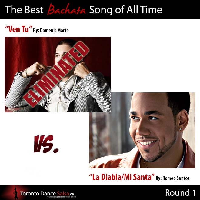 Best Bachata Song Ven Tu Eliminated