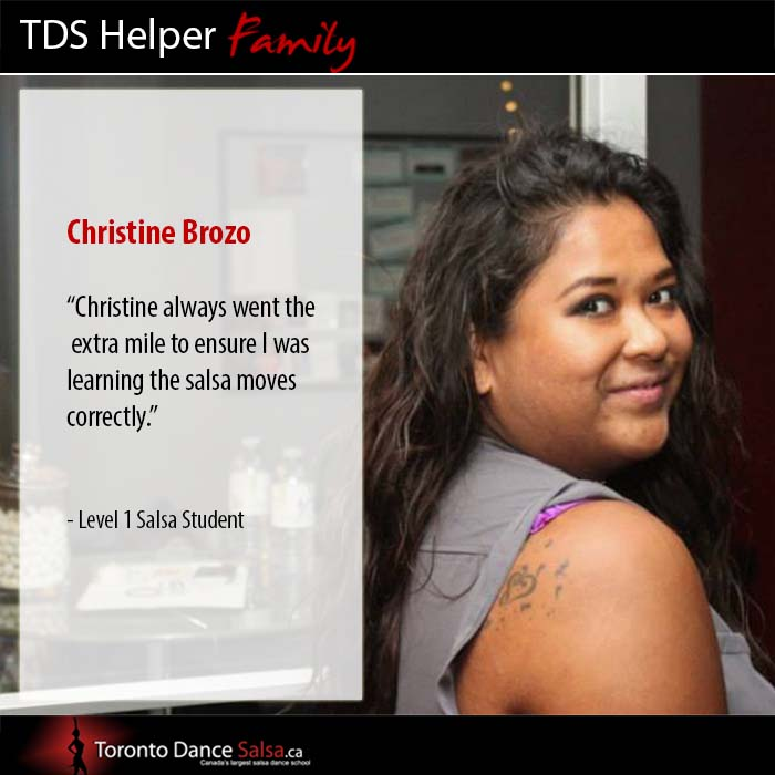 Helper Love Christine Brozo