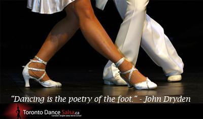 """Dancing is the poetry of the foot."" – John Dryden."