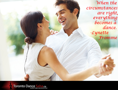 """When the circumstances are right, everything becomes a dance."" – Lynette Fromme"