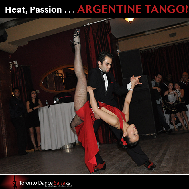 Heat, passion Argentine Tango
