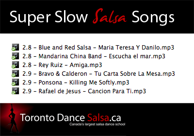 Super slow salsa songs