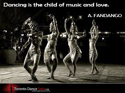 """Dancing is the child of music and love."" – A Fandango"