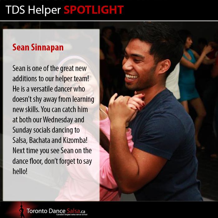 Helper Spotlight Sean Sinnapan