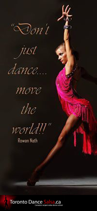 Don't just dance… move the world!!